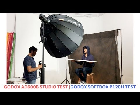 Best off camera flash test in studio photography | Godox softbox  test | Hindi tutorial