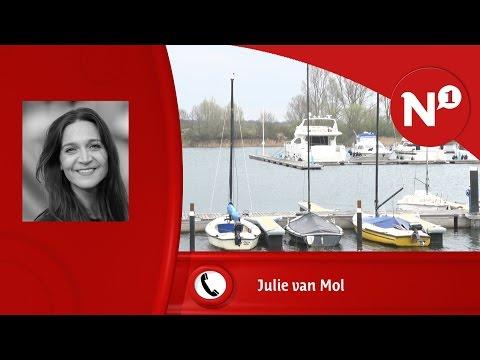 Julie van Mol presenteert debuutroman 'Sterker door strijd'