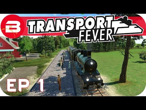 Transport Fever Gameplay - MAKING MONEY QUICK! (Let's Play Transport Fever)