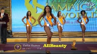 Miss World Jamaica 2015 Swimsuit Competition