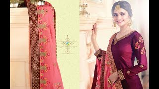 Latest Salwar Suits Indian Collection 2018 || Vinay Fashion || Kaseesh Mumtaz
