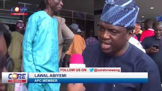 LAGOS: SANWO-OLU DECLARES GOVERNORSHIP ASPIRATION UNDER APC...watch & share...!