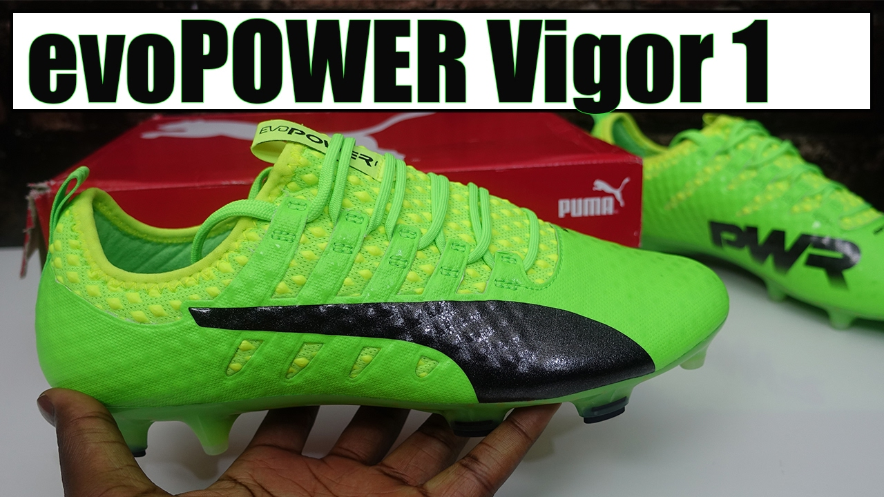 7f39190cb23c Puma evoPower Vigor 1 (green black Safety yellow) Review + On-Feet ...