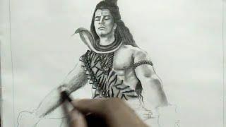 Shiva ( god Shiva painting )