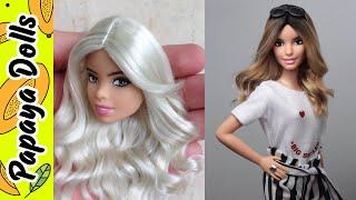DIY Barbie Hair Transformations | Barbie Doll Hairstyles | Tut…