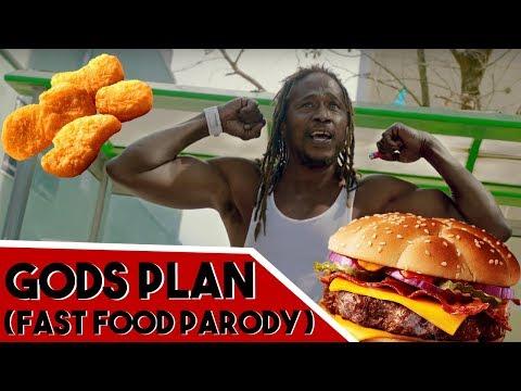 DRAKE - GODS PLAN (FAST FOOD PARODY)