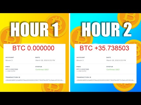 How To Make 1 FREE Bitcoin With No Effort | Earn 1 BTC In 1 Day