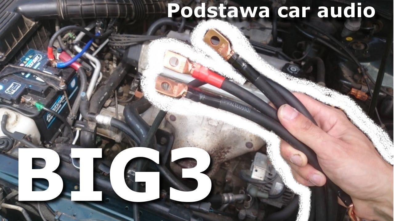 medium resolution of how to install the big 3 big3 podstawa car audio zr b to sam honda accord coupe