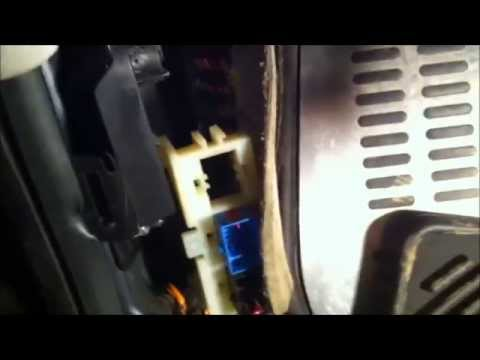 2002 new beetle door wiring harness removal