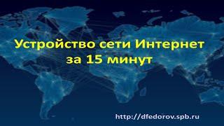 Устройство сети Интернет за 15 минут