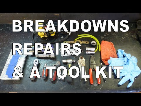 Breakdowns, Repairs, & A Portable Tool Kit For Scooters