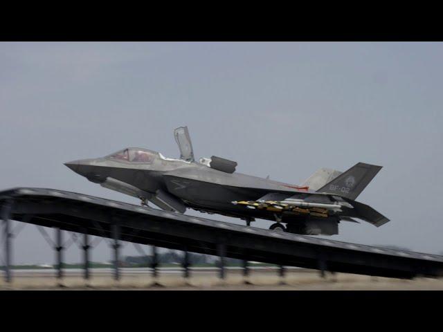 F-35B Ski Jump Testing