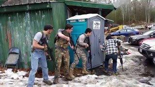 Porta-potty Breach