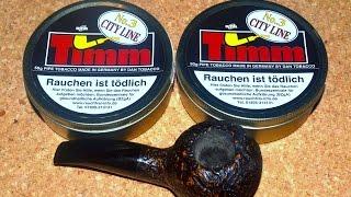 DTM - Dan Tobacco: »Timm No. 3 City Line« Pipe Tobacco     Pfeifentabak     Pfeife rauchen