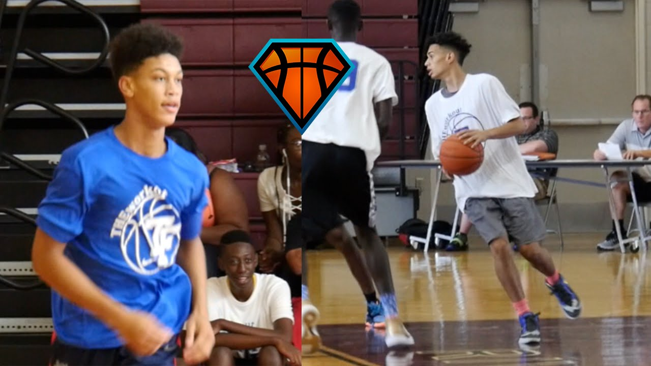 outlet store 379dd e3f2e Isaiah Palermo   Zavien Smith Came To PLAY At NTF s  THEWorkout!!   2019  Guards - YouTube