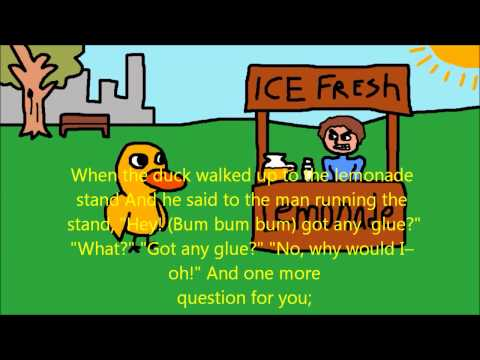 The Duck Song  With Lyrics