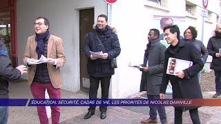 Yvelines | Éducation, sécurité, cadre de vie, les priorités de Nicolas Dainville