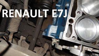 Капремонт E7J. ДВС установлен и опять недостача запчастей.