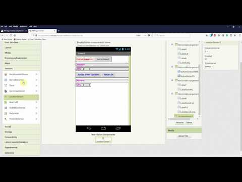 Playing with GPS module in Android (MIT App Inventor)