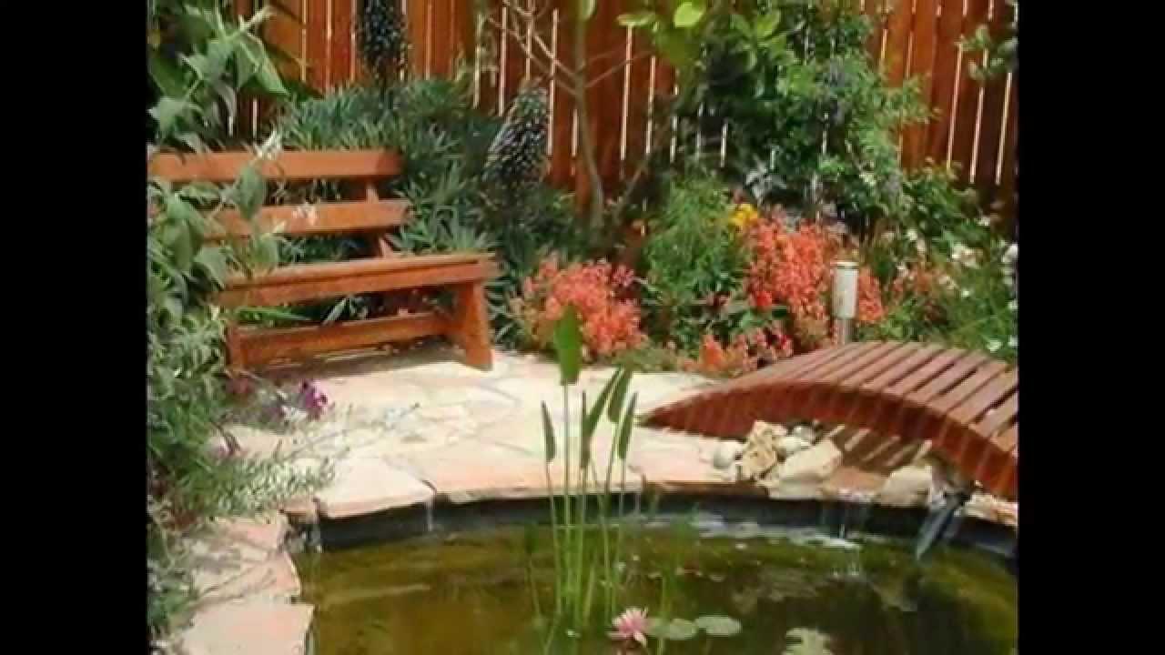 Оригинальные поделки из дерева для сада и огорода - YouTube