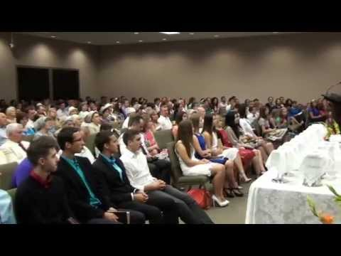 Baptism 2015 at Spring of Life (HD) in RUSSIAN