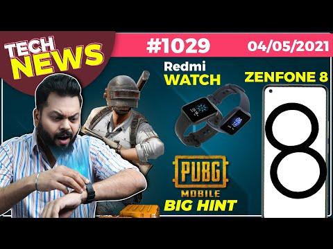 PUBG Mobile Relaunch Big Hint, Redmi Watch Coming, Zenfone 8 India Launch,MIUI 13,iPhone 13-#TTN1029