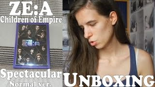 Unboxing - ZE:A - Spectacular Normal ver. - 2nd album - Aftermath - Children of Empire