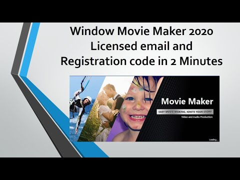 How To Crack Windows Movie Maker 2020 (100% Worked) With A Licensed Email And Registration Code