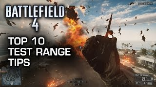 Battlefield 4: Top 10 Test Range Tips