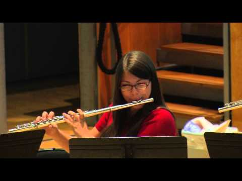 LSO Woodwind Academy 2015: the flutes