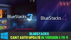Update BlueStacks Version 3 To 4 (Can't Auto Update in Version 3 to 4) in Pc/Laptop