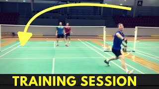 VIKTOR AXELSEN TRAINING SESSION