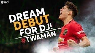 DANIEL JAMES DREAM DEBUT! Man Utd 4-0 Chelsea | #TWAMAN