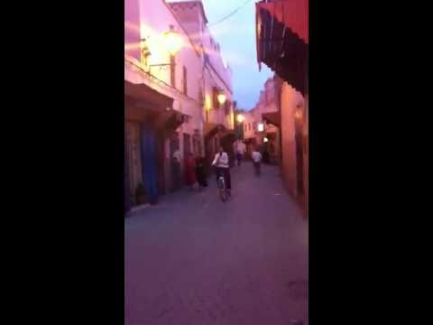 Call to prayer in Marrakech