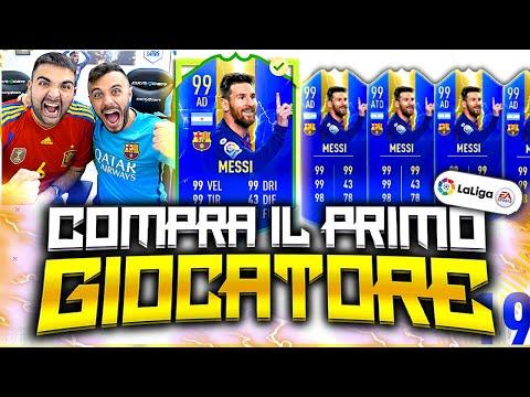 MESSI 99 TOTS!!!!!!!!!!!! COMPRA IL PRIMO GIOCATORE su FIFA 19!
