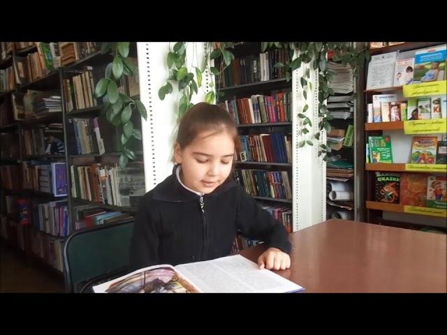 Изображение предпросмотра прочтения – КираКашичкина читает отрывок изпроизведения «Муму» И.С.Тургенева