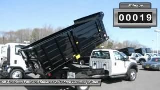 2013 Ford Landscape Dump F550 4x4   Old Bridge, Nj 132181