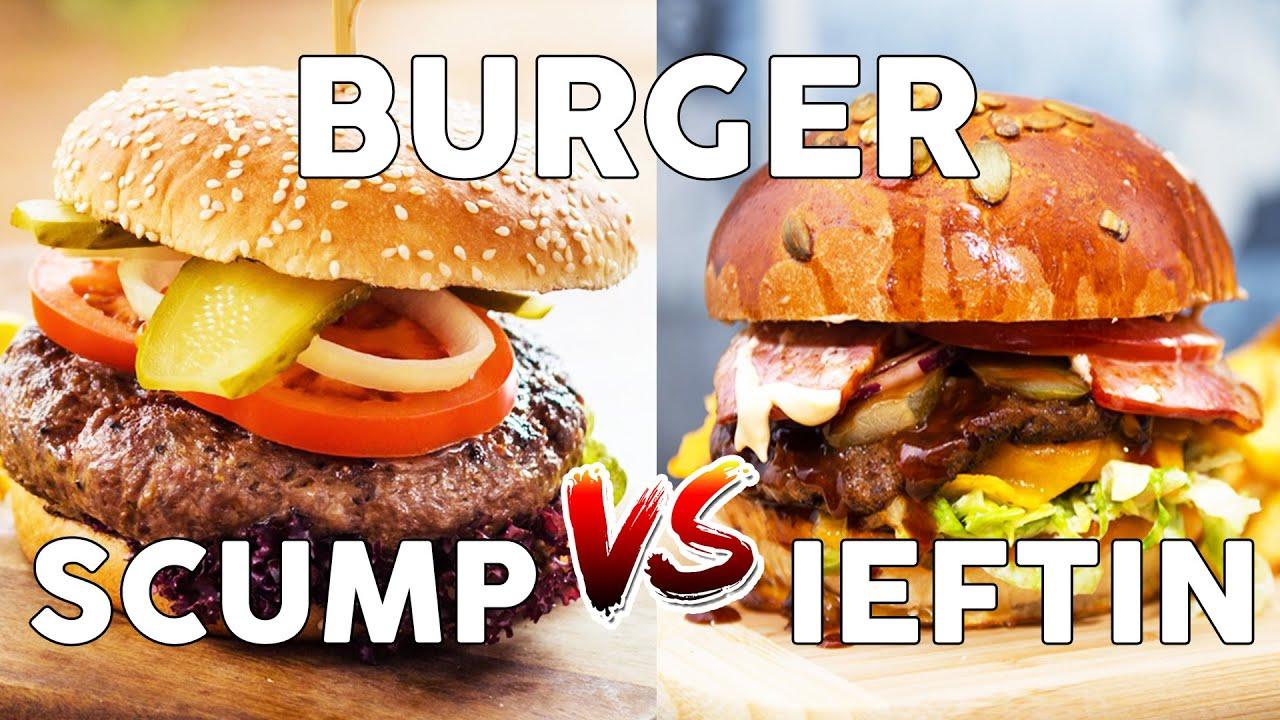 IEFTIN vs SCUMP - BURGER KOBE 145 lei sau BURGER 26 lei?