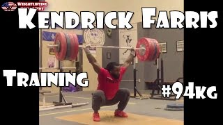 Kendrick Farris (USA, 94KG)   Olympic Weightlifting Training   Motivation