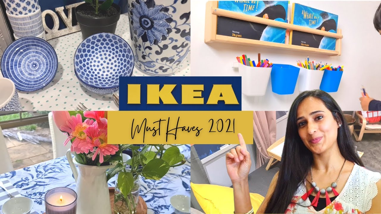 *NEW* IKEA RECOMMENDED PRODUCTS FOR 2021 | HOME, KITCHEN & BATHROOM...!