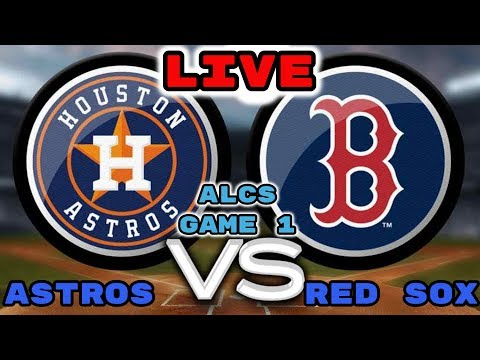 Houston Astros Vs Boston Red Sox|Game 1| Live Stream