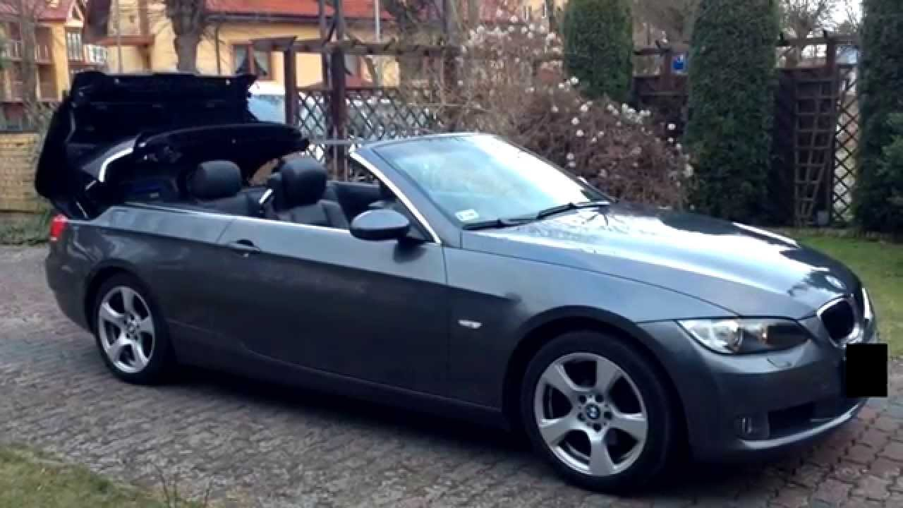 bmw 320i cabrio youtube. Black Bedroom Furniture Sets. Home Design Ideas
