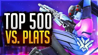 A Top 500 Widowmaker Plays In Plat... Overwatch Smurfing Unranked to GM (Samito)