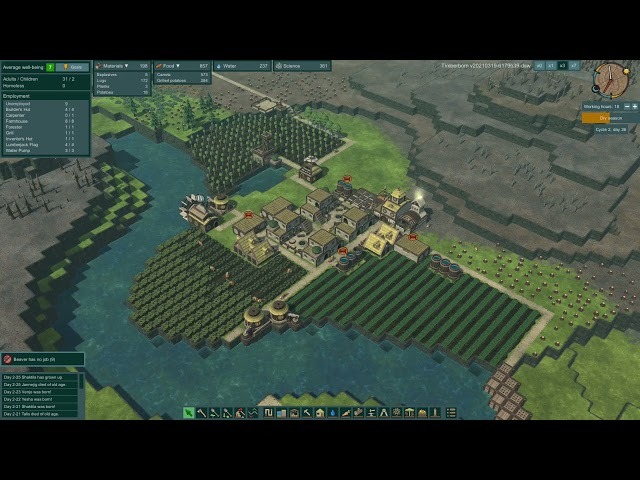 Timberborn Demo Update - Second Dry Season