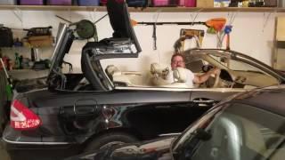 2004 clk 320 convertible top problem