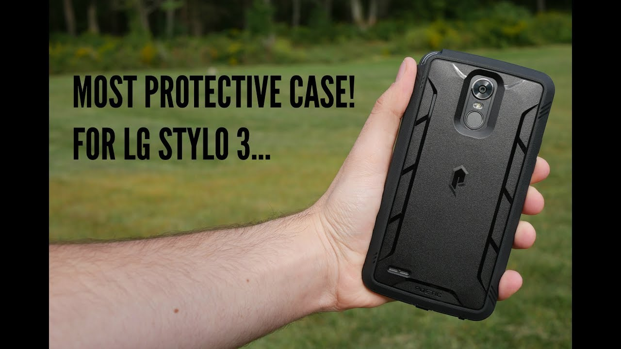 reputable site 9b25d b43fe Most Protective Case for LG Stylo 3!