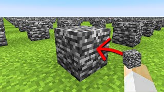 Minecraft, But Your Building Affects Every Chunk...