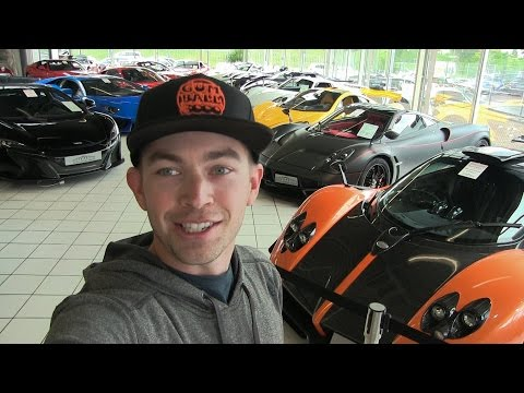 Germany's Best Supercar Dealership and Million Dollar Ferrari Collection | 6.15.2016