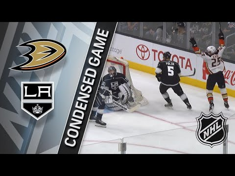 01/13/18 Condensed Game: Ducks @ Kings