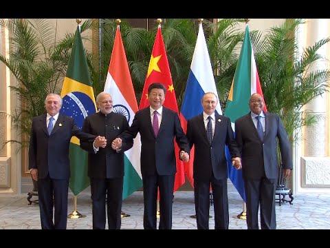 Leaders of BRICS Countries Meet in Hangzhou